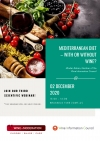 """Mediterranean diet – with or without wine?"" Register now !"